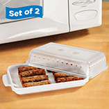 Microwave Sausage Cookers, Set of 2