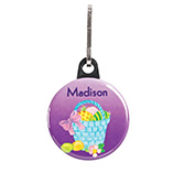 Christmas & Holidays - Personalized Easter Basket Zipper Pull