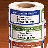 Pencils, Office & Stationery - Bible Verse Address Labels