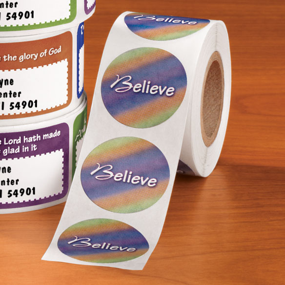 Inspirational Bible Verse Seals 250