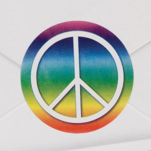Peace Symbol Seals