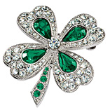 St. Patrick's Day - Shamrock Pin