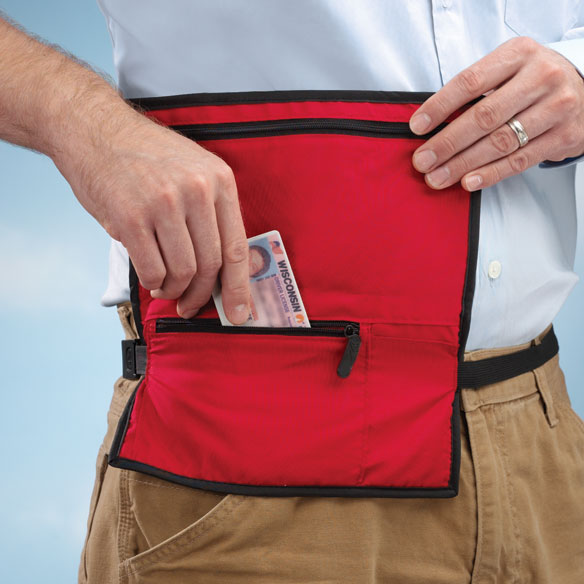 Red Waist Wallet - View 1