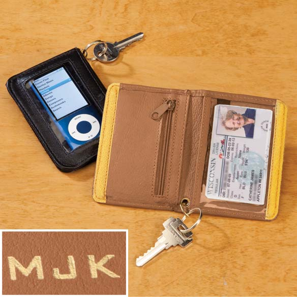 Personalized Mini Wallet Key Chain