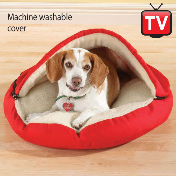 Pet Cave Dog Bed