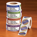 Office & Books - Bible Verse Labels And Seals - Set Of 250 Each