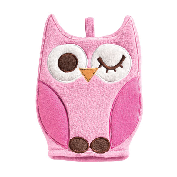 Owl Wash Mitt