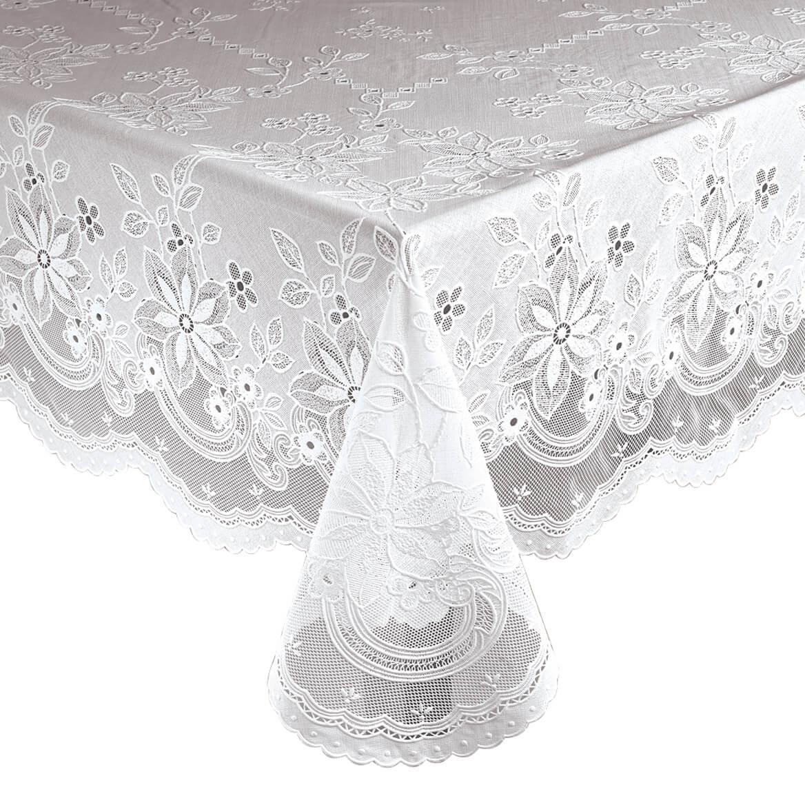 Vinyl Lace Tablecloth 344554 ...