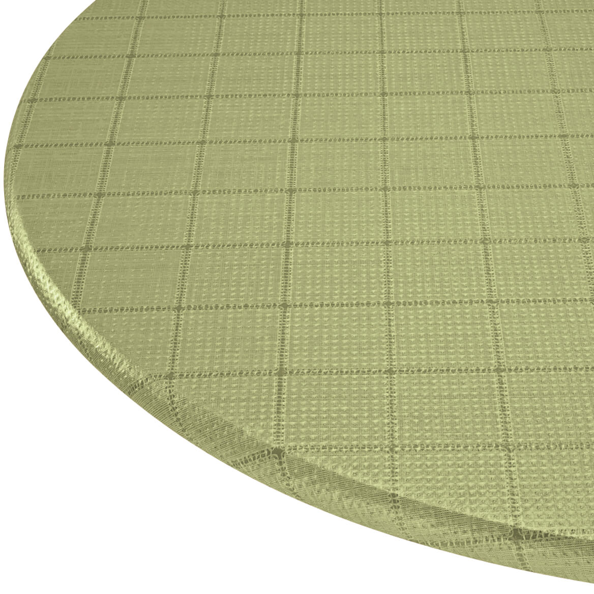 Woven Lattice Vinyl Elasticized Table Cover