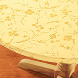 View All Tablecovers & Chair Accessories - Floral Swirl Elasticized Table Cover