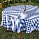 Patio & Grill - Zippered Table Cloth