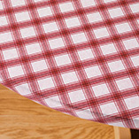 View All Tablecovers & Chair Accessories - Plaid Elasticized Vinyl Table Cover