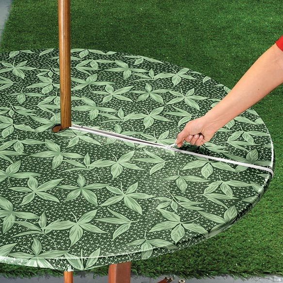 Fern Umbrella Table Cover