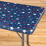 4th of July - Elasticized Banquet Table Cover