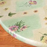 Kitchen - Peony Patch Elasticized Table Cover