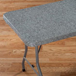 View All Tablecovers & Chair Accessories - Granite Elasticized Banquet Table Cover