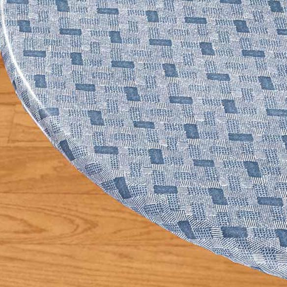 Basketweave Elasticized Table Cover