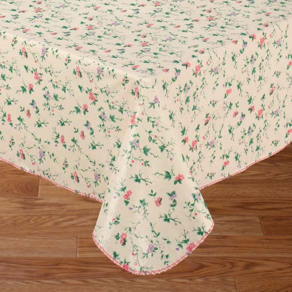 Mini Floral Vinyl Table Cover