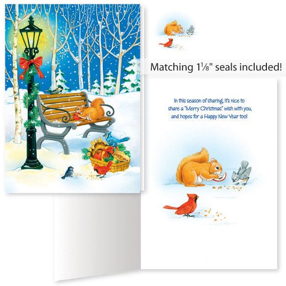 Sharing the Season Unpersonalized Card Set of 20