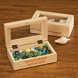 Personalized Wooden Keepsake Box