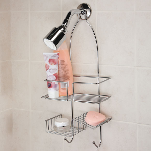 Chrome Hanging Shower Caddy