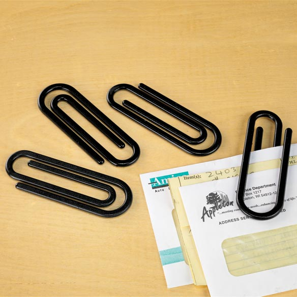 Jumbo Paperclips Set of 10
