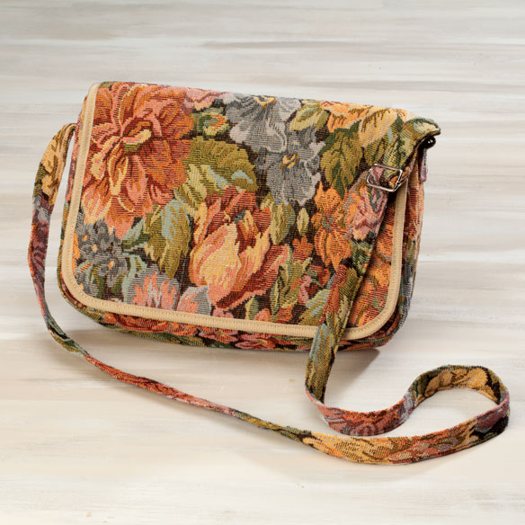 Women's Floral Purse - View 1