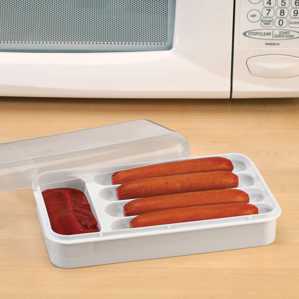 Microwave Hot Dog Cooker/Server