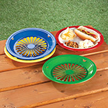 Patio & Grill - Plastic Paper Plate Holders - Set Of 8