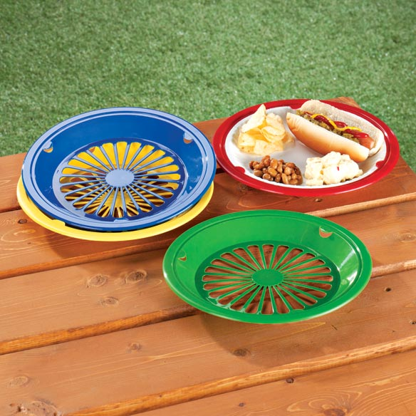 Plastic Paper Plate Holders   Set Of 8 vFNqyyQz
