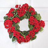 Frontdoor & Mailbox - Silk Flower Door Wreaths