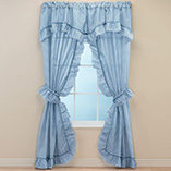 View All Bedding & Pillows - Gingham Check Curtains