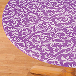 View All Tablecovers & Chair Accessories - Scroll Elasticized Table Cover