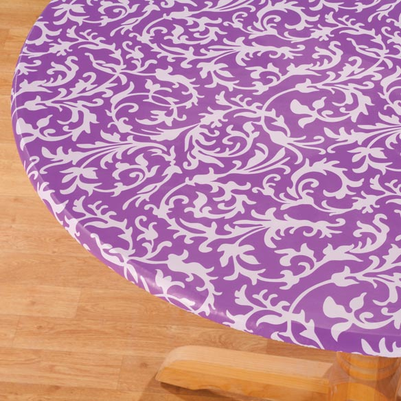 Scroll Elasticized Table Cover