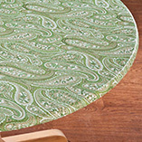 View All Tablecovers & Chair Accessories - Paisley Elasticized Table Cover