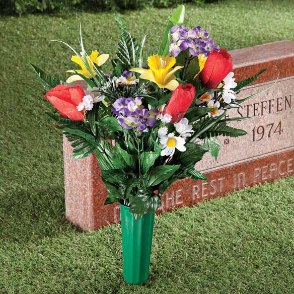 Memorial Silk Flowers