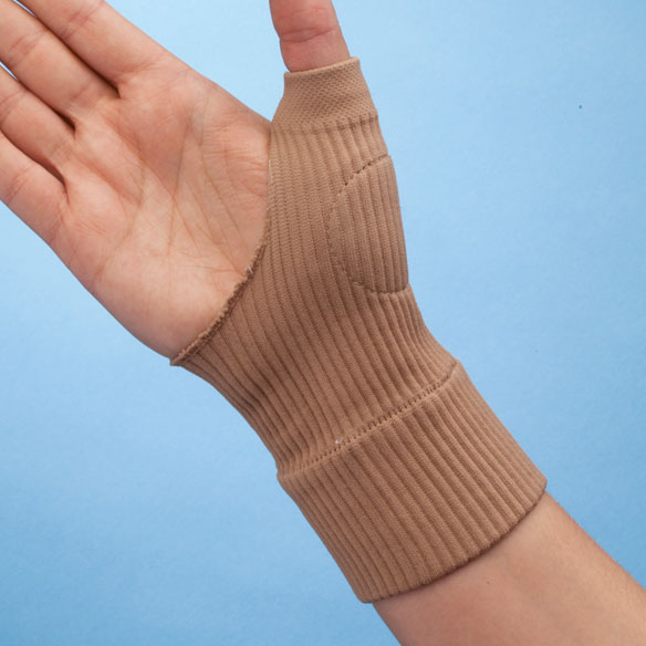 Stretchable Gel Thumb Compression