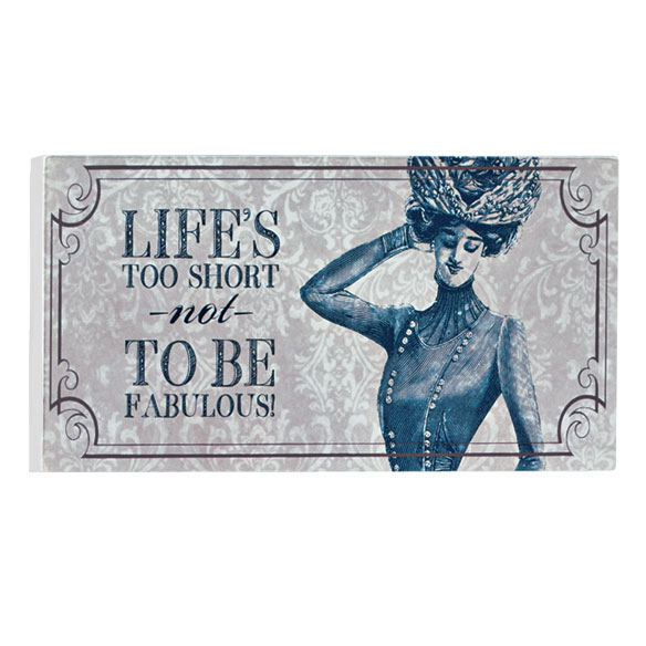 4x8 Hat Wood Wall Plaque