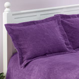 View All Bedding & Pillows - The Jane Chenille Straight Line Sham