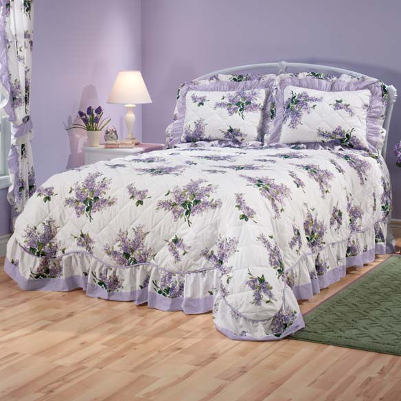 Lilac Bouquet Bedding