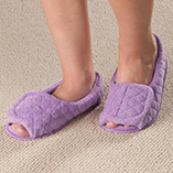 View All Web Exclusives - Quilted Adjustable Slippers