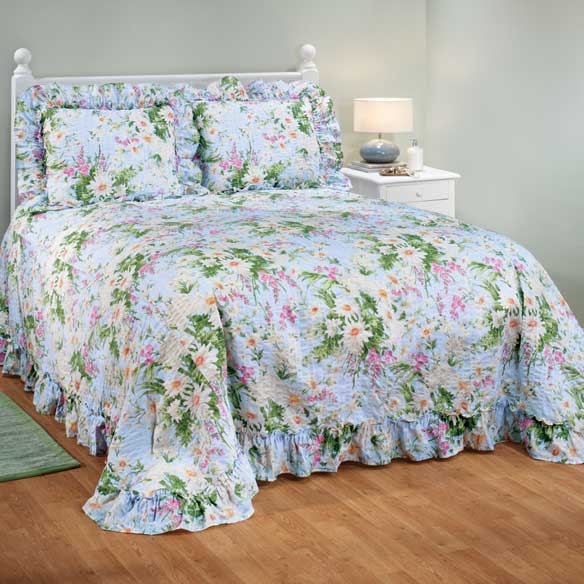 Daisy Garden Plisse Bedding