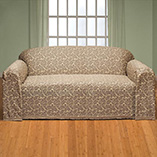 Cushions, Curtains & Throws - Damask II Sofa Slipcover