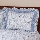 View All Bedding & Pillows - Melissa Floral Pillow Sham