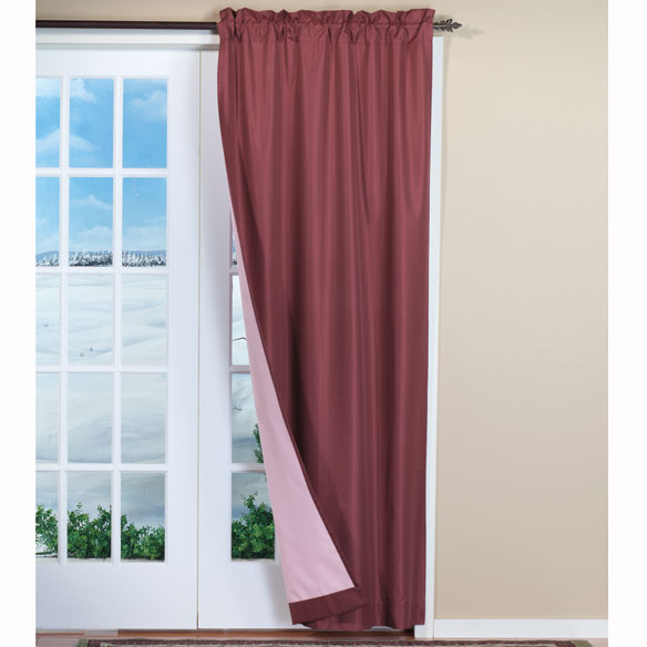 Energy Saving Drape Panel