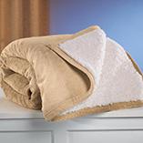 Pillows, Blankets & Sheets - Micro Mink Sherpa Blanket