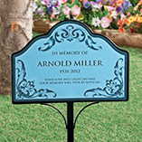 Personalized Memorial Magnetic Sign