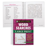 Games & Puzzles - Large Print Word Search Book