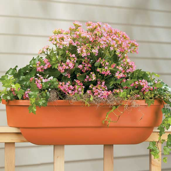 Deck Railing Planter Large Rectangle