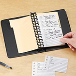 Desk & Computer Accessories - Desktop Address Book